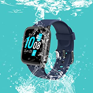6  YAMAY Smart Watch 2020 Ver. Watches for Men Women Fitness Tracker Blood Pressure Monitor Blood Oxygen Meter Heart Rate Monitor IP68 Waterproof, Smartwatch Compatible with iPhone Samsung Android Phones 39127f27 4dfb 4921 98a3 38ee63c4ea9c