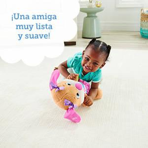 Fisher-Pirce Perrito Epo primeras palabras, juguete bebé +6 meses (Mattel FPM56)