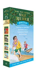 magic books book sets box set treehouse books