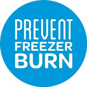 Ziploc Freezer Bags - PREVENT FREEZER BURN