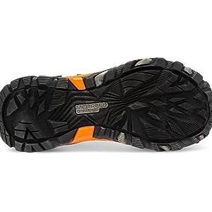 Merrell Kids MOAB FST Low Waterproof hiking shoe