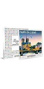 París en 2 días caja regalo Smartbox