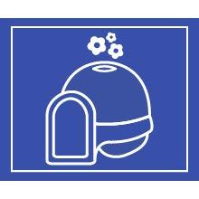 Dome Clean Step Cat Litter Box Reduce Odors