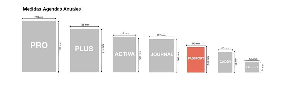 Miquelrius 31190 - Agenda 2020, Semana Vista Horizontal (90 x 140 mm), de bolsillo, Iceberg, Castellano