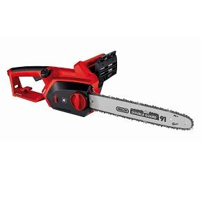 einhell gh ec 2040 2000 w tool less electric chainsaw with 40 cm oregon bar black red amazon. Black Bedroom Furniture Sets. Home Design Ideas