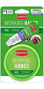 O'Keeffe's Working Hands Hand Cream Jar