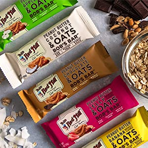 bobs red mill bars peanut butter snack meal non gmo certified verified project gluten free nongmo