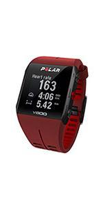 Polar 90060774 Reloj para Triatlón con GPS V800 HR