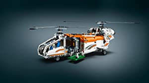 Rebuilds into a Tandem Rotor Helicopter