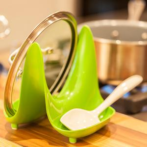 Lime Green one Size Hutzler 3707GR Pot lid Stand