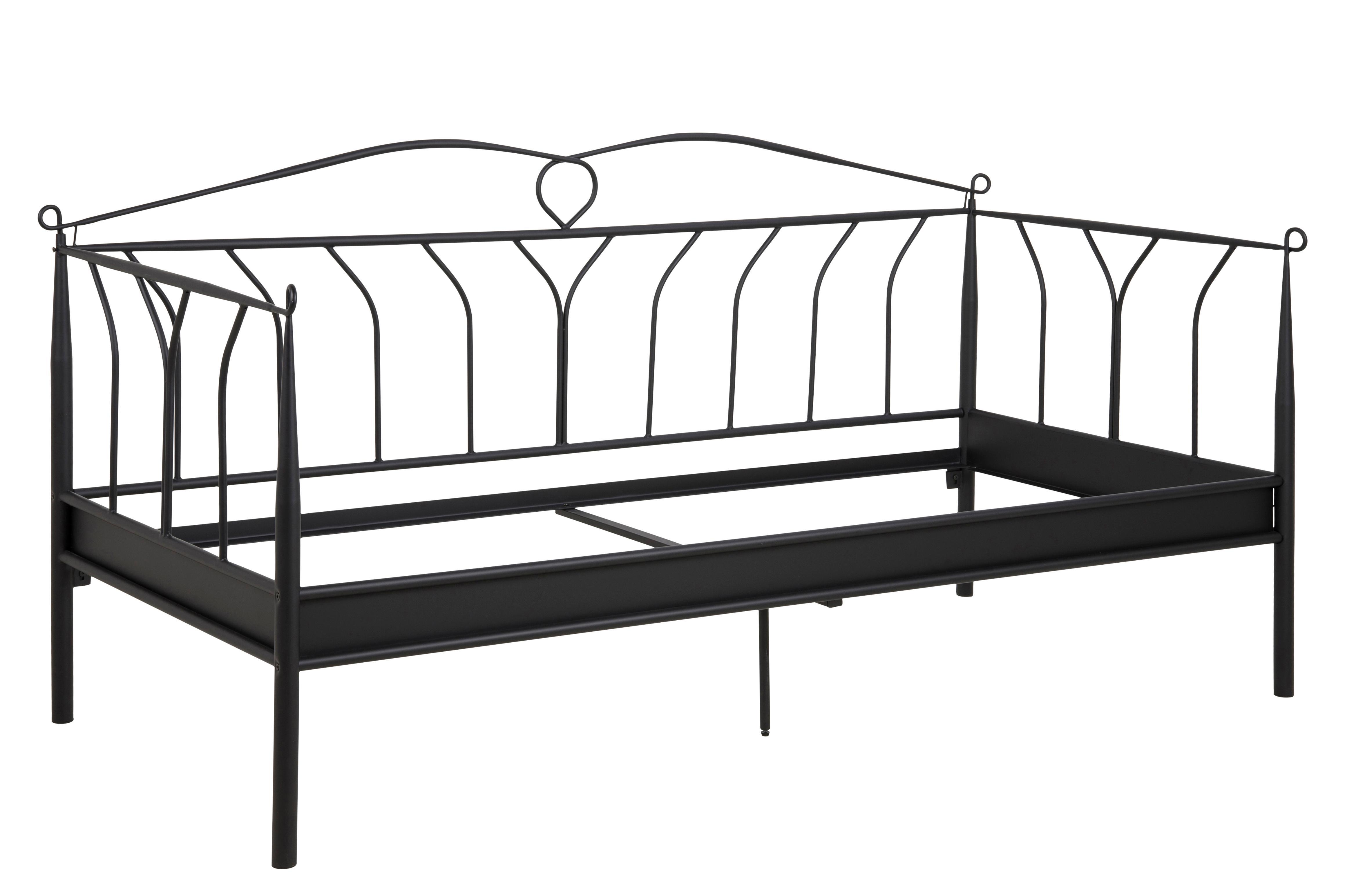 AC Design Furniture 14270 Metallbett Lis, Liegefläche 90 x 200, ohne ...