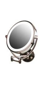 wall mirror, makeup mirror, mirror
