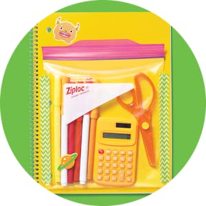 Ziploc - IT'S A CLASSROOM CADDY