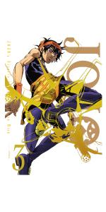 【Amazon.co.jp限定】ジョジョの奇妙な冒険 黄金の風 Vol.3 (9~12話/初回仕様版) (オリジナル手ぬぐい付)
