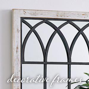 decorative frames arch mirror