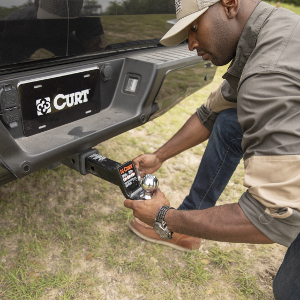 CURT Ball Mount Trailer Hitch Receiver Install