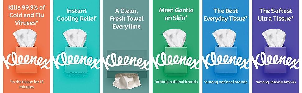 Kleenex Tissue options