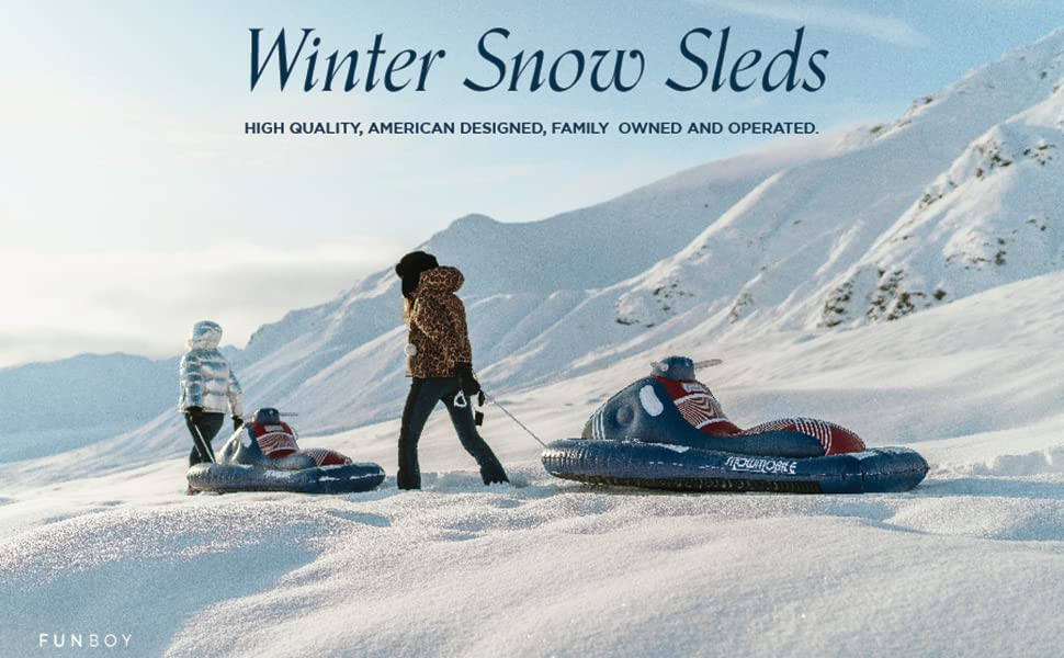 Winter Snow Sleds by FUNBOY