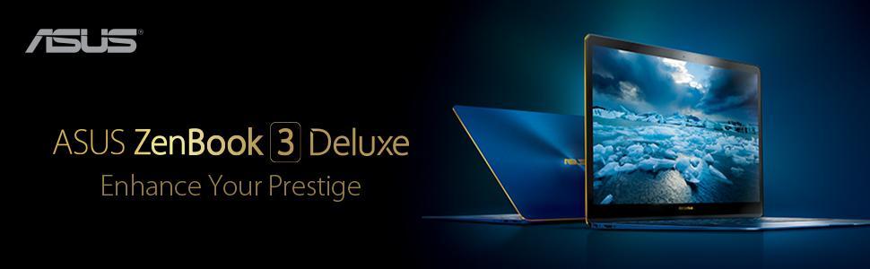 "ASUS ZenBook 3 Deluxe UX490UA 14"" FHD Ultraportable Laptop, Intel Core i7, 512GB NVMe SSD"