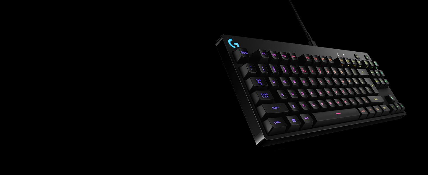 logitech g pro mechanical gaming keyboard 16 8 million colors rgb backlit keys. Black Bedroom Furniture Sets. Home Design Ideas