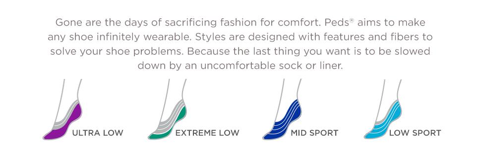 Peds No Show Liner Socks