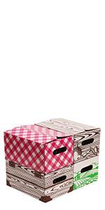Quart Jar Storage Boxes by VICTORIO VKP1230
