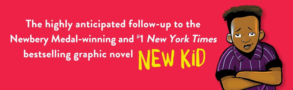 New Kid, Newbery Medal, Win, graphic novel, Black Lives