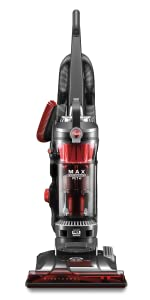 hoover upright bagless corded vacuum cleaner pet hair best bissell home house clean windtunnel dirt