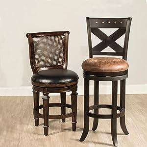 Wood Bar Stool, Wood Counter Stool, Decorative Counter Stool, Backless  Counter Stool,