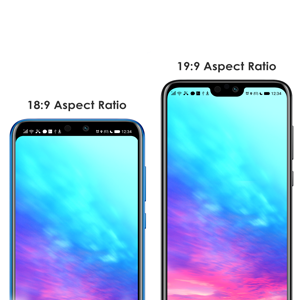 Honor 9N  Aspect ratio