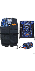 nerf elite total tactical pack