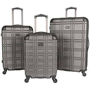 Luggage, Suitcase, Set, Designer, Lightweight, Nottingham, Ben Sherman, Travel, Durable, ABS