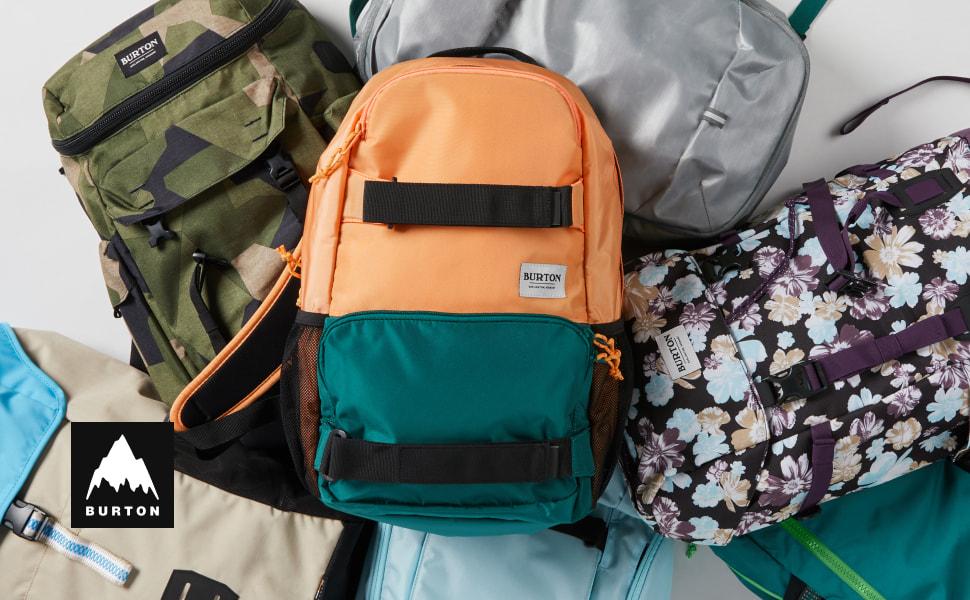 backpack burton pockets travel hiking school bag pack lightweight durable