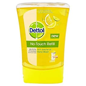Dettol No Touch Refill Anti Bacterial Hand Wash Citrus
