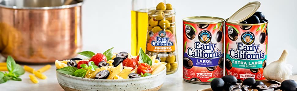 Early California Olives