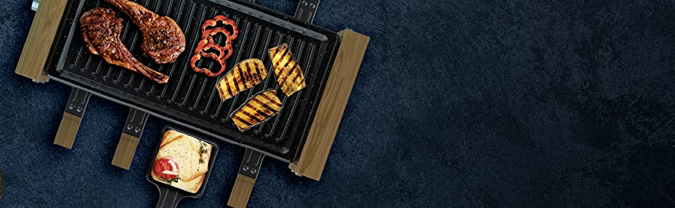 raclette Cheese&Grill 8200 WoodBlack