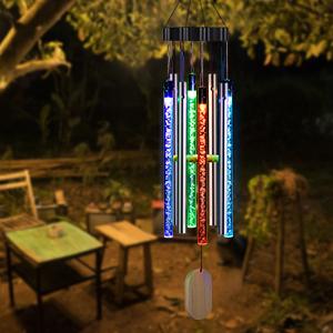 Solar Wind Chimes Light Outdoor