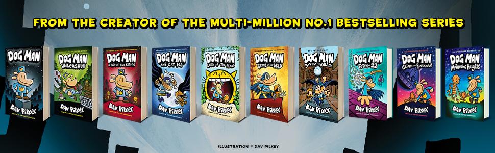 Dog Man, Cat Kid, Dav Pilkey, Captain Underpants, comics, kids books, graphic novels
