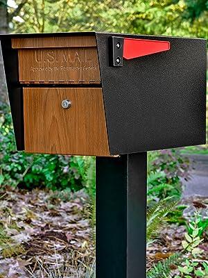 Security Locking Mailbox