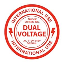 Dual Voltage for International Travel