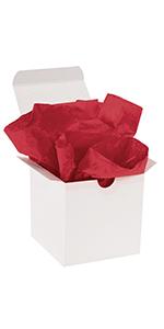 Scarlet Gift Grade Tissue Paper