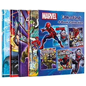 look,find,and,&,activity,book,books,activities,puzzle,hidden,picture,pi,p,i,phoenix,marvel,spiderman