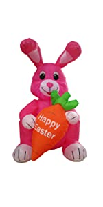 bzb goods easter inflatables inflatable airblown decor sunstar outdoor decoration gemmy blowup