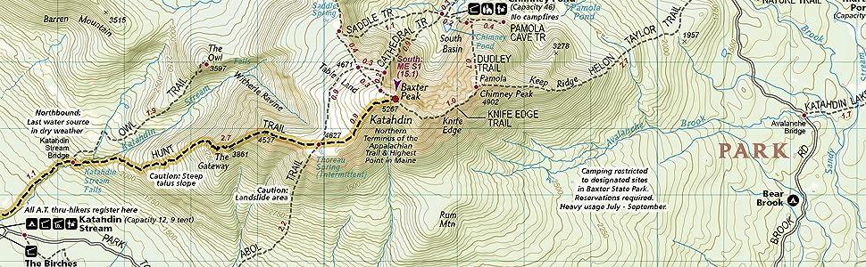 Appalachian Trail, Mount Carlo to Pleasant Pond [Maine ...