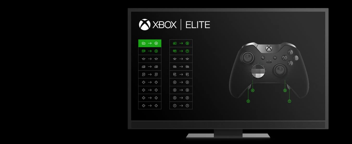 Microsoft - Mando Elite Wireless (Xbox One), negro: Microsoft: Amazon.es: Videojuegos