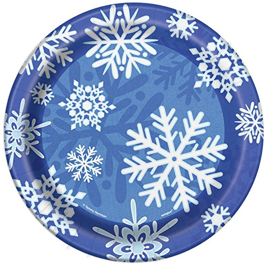 Winter Snowflake Holiday Oval Paper Plates 8ct · Winter Snowflake Holiday Dinner Plates 8ct · Winter Snowflake Holiday Dessert Plates 8ct ...  sc 1 st  Amazon.com & Amazon.com: Winter Snowflake Holiday Oval Paper Plates 8ct: Kitchen ...