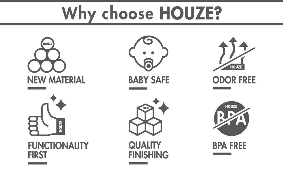 Why choose Houze?