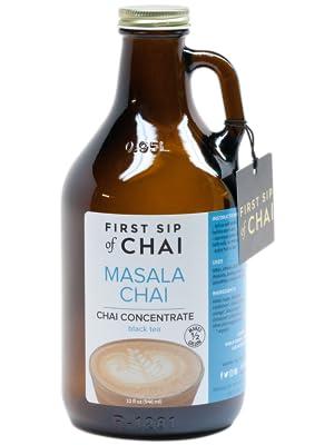 the first sip of chai, masala chai