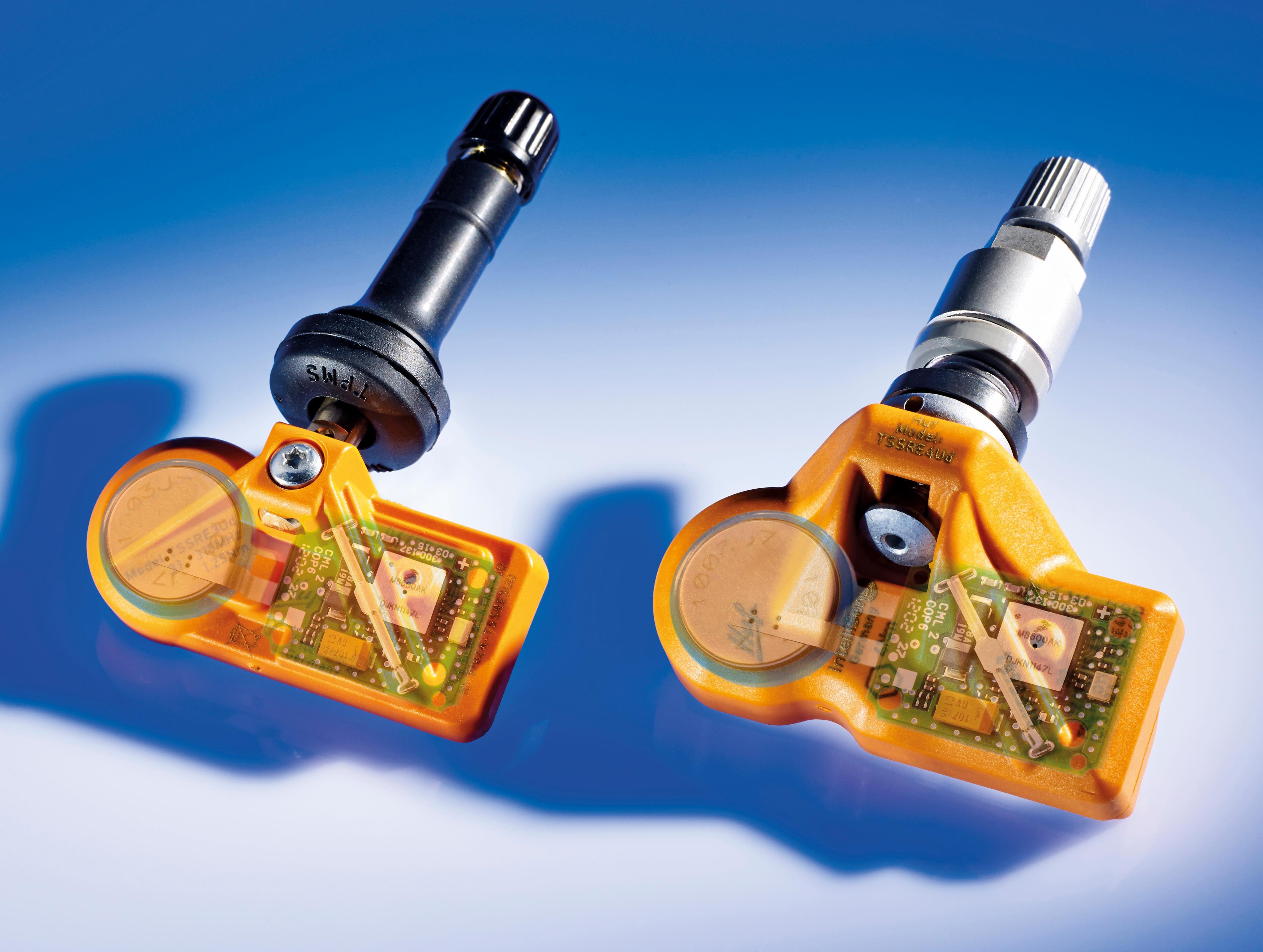 Tire Pressure Monitoring System (TPMS) HUF North America UVS4031 IntelliSens 433MHz Universal TPMS Sensor Tires & Wheels