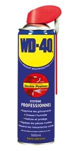produit multifonction, WD-40, chasse humidite, anticorrosion, antirouille, entretenir moto